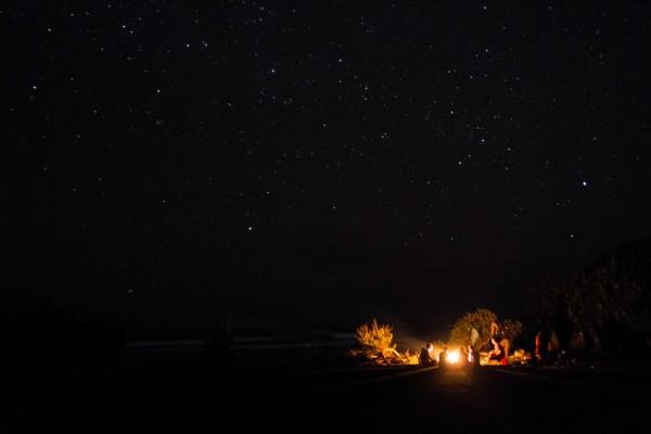 Randonnée nocturne et nuit à la belle étoile en Ardèche