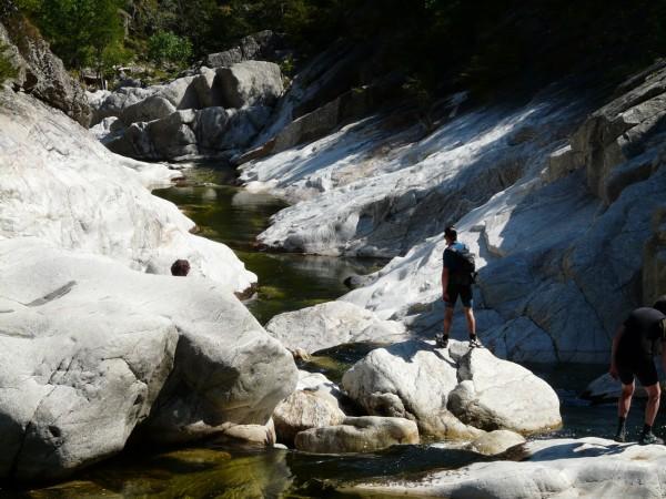 randonnée aquatique Ardèche