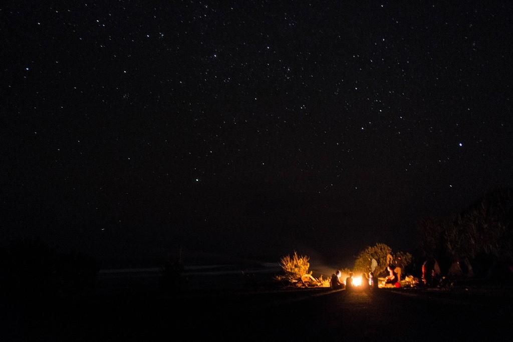 Nuit à la belle étoile en Ardèche